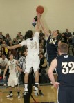 Feb. 11, 2011: (Photos) Varsity Boys Basketball - McDonald 60 @ Lowellville 48