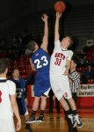 Feb. 8, 2011: (Photos) Varsity Boys Basketball - Lakeview 50 @ Struthers 71