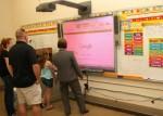 May 8, 2012: (Photos) St. Nicholas School Family Math Night