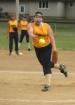 May 29, 2012: (Photos) 11- and 12-year-old girls' softball - Lowellville Bogey's  @ Campbell Police Dept (rain delayed)