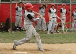 June 23, 2012: (Photos) Pony League baseball Struthers St. Anthony 9 (Gray), Morgan Oil (Red) 3