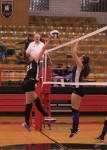 Oct. 9, 2012: (Photos) Volleyball - Champion 3 @ Campbell 0 (Senior Night)