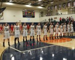 Jan. 19, 2013: (Photos) Varsity Girls' Basketball - Badger 41 @ Lowellville 63