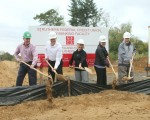Ground Broken at New Credit Union Site