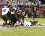 Oct. 18, 2013: (Photos) Varsity Football - Lakeview 45  @ Campbell 13