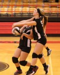 Sept. 30, 2013: (Photos) Varsity Volleyball - Lowellville 3 @ Campbell 0