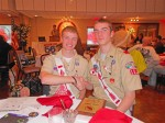 Scouts excel at Order of the Arrow