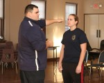 Women learn self defense in Lowellville