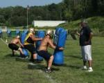 Lowellville Varsity Football Practice - Aug. 4, 2014
