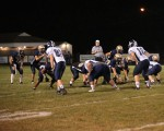Varsity Football, Homecoming:  Lowellville 38, Leetonia 13  (Oct. 3, 2014)
