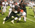 Varsity Football: Girard 33, Campbell 12 (Sept. 19, 2014)