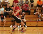 Eighth-Grade Volleyball: Struthers 2, Campbell 0 (Sept, 8, 2014)