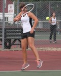 Girls Tennis: Canfield at Struthers (Sept. 15, 2014)