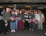 Holiday Bowl Flag Presentation (Nov. 7)