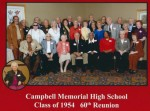 Campbell Memorial High School, Class of 1954