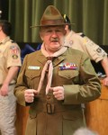 Struthers Boy Scouts Cross Over April 28, 2015